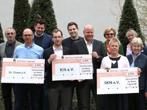 Spendenprojekt der Lippstädter Serviceclubs. Foto: Lippstädter Tageszeitung Der Patriot