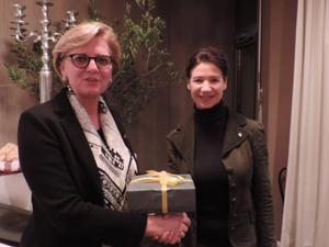 Zonta-Area-Director-besucht Zonta Club Lippstadt