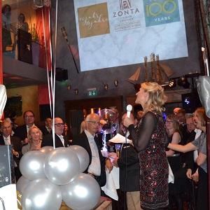 Jubiläumsparty 25 Jahre Zonta Club Lippstadt - Begrüßung