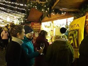 Treffpunkt Zonta auf dem Weihnachtsmarkt in Lippstadt