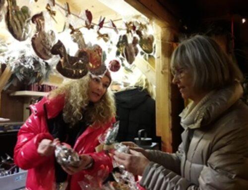Alle Jahre wieder: Zonta auf dem Weihnachtsmarkt