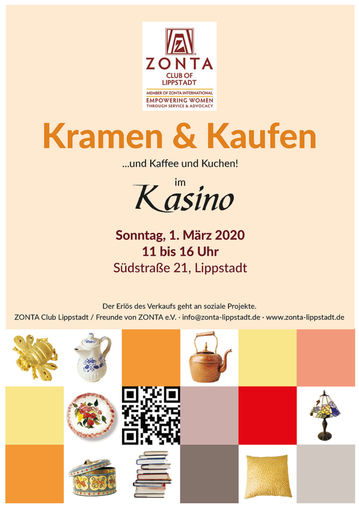 Zonta Club Lippstadt lädt zum Flohmarkt 2020 ein