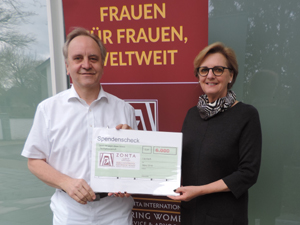 Zonta Club Lippstadt spendet Flohmarkterlös an Indienprojekt