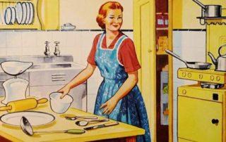 Rolle der Frau in den 50er Jahren