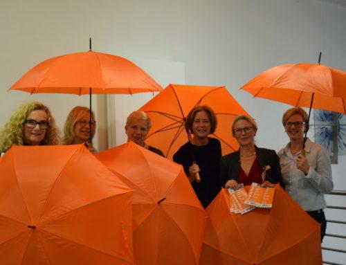 Mit Orange ein Leuchtzeichen setzen – Zonta Lippstadt sagt NEIN zu Gewalt an Frauen