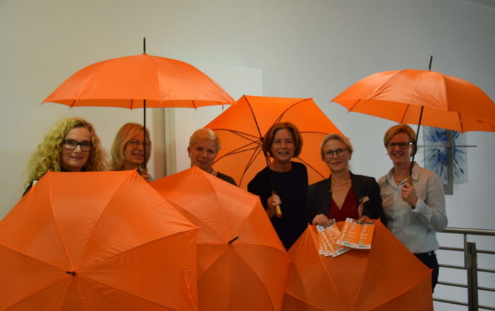 Orange The World - Zonta LIppstadt sagt nein zu Gewalt an Frauen